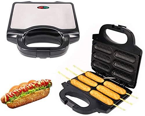 Maker Saucisse Waffle électrique, Croustillant français Hot Dog Lolly bâton, petit déjeuner Pan, cuisson Grill, Hotdog Machine, cuisine cadeau