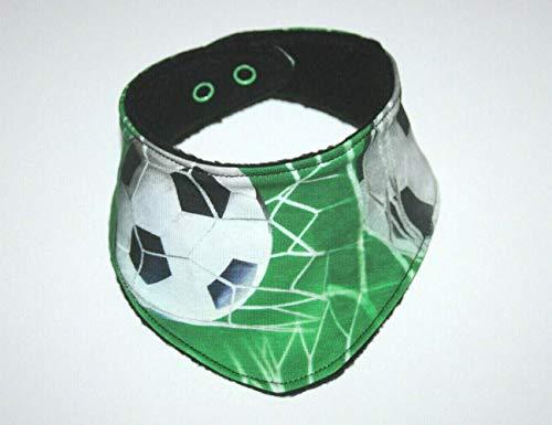 Fussball Schal Dreieckstuch Halstuch Jungen Baby, grün