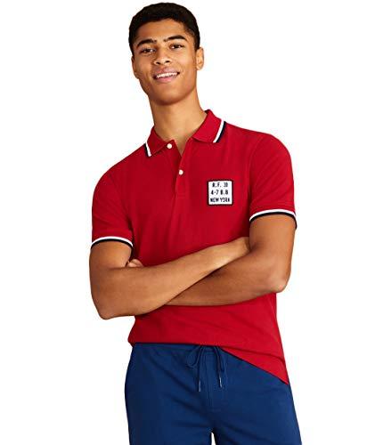 Brooks Brothers(ブルックス ブラザーズ) Red Fleece コットンピケ ティッピング ポロシャツ 100163602 レ...