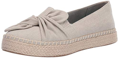 Dr. Scholl's Shoes Damen Found Halbschuhe, Oyster Washed Canvas, 38.5 EU