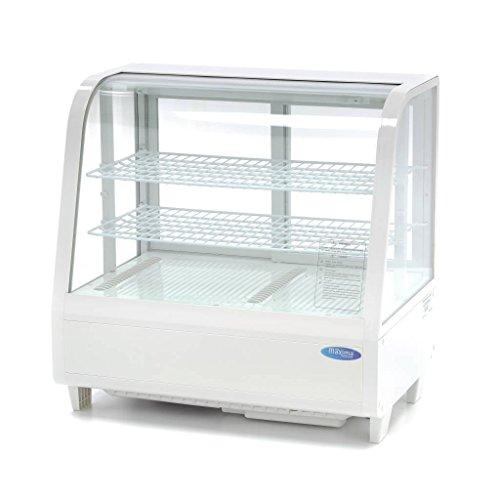 Kühlvitrine 100L Weiß
