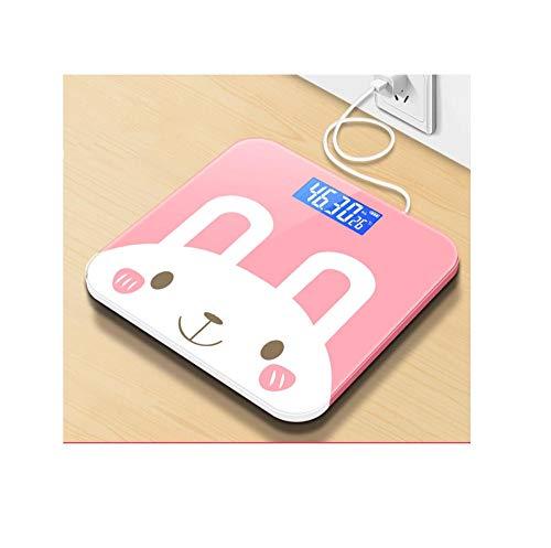 Elektronische Waage kleine Personenwaage, genaue Gewichtsabnahme bei Erwachsenen zu Hause, tragbar, genau auf zwei Dezimalstellen@A2