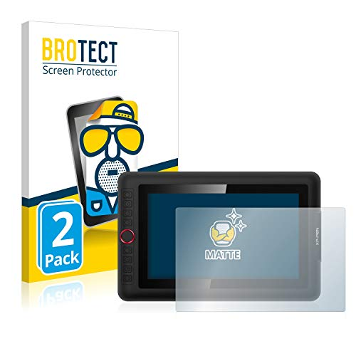 BROTECT Protector Pantalla Anti-Reflejos Compatible con XP-Pen Artist 12 Pro (2 Unidades) Pelicula Mate Anti-Huellas