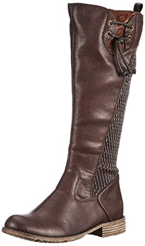 Rieker Herbst/Winter, Bottes Hautes Femme, Marron (Havanna/Brown/Moro / 25 25), 38 EU