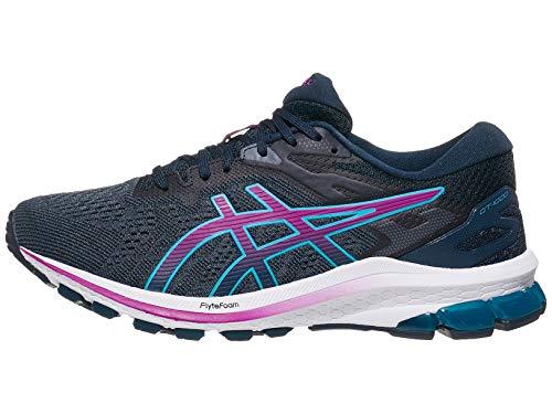ASICS Women's GT-1000 10 Running Shoes, 8.5, French Blue/Digital Grape