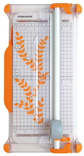 Fiskars Portable Rotary Trimmer Ø28mm 30 cm - A4, With Cutting line guide,...