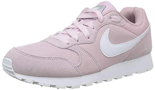 Nike MD Runner 2, Zapatillas de Running Mujer, Multicolor (Plum Chalk/White 500), 37.5 EU