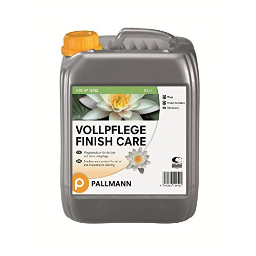 Pallmann Vollpflege Finish Care, halbmatt - 5 Liter