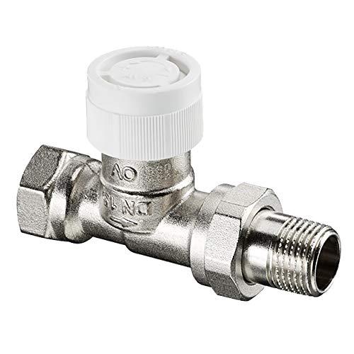 Oventrop Thermostatventil, silber