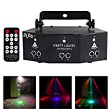 W-life Stage Light 9 Eyes RGB Party Lighting Lamps LED Lamp Beam DMX Disco DJ KTV Party Effect Projector With Remote Contro