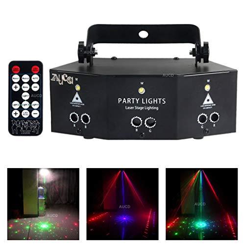 W-life Bühnenscheinwerfer 9 Augen RGB-Partei-Beleuchtung LED Lampe Lichtstrahl DMX Disco DJ KTV-Party-Effekt-Projektor Mit Ferncontro