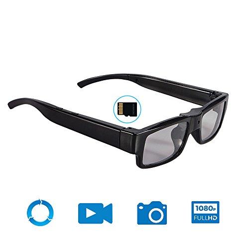 Mofek 16GB HD 1920x1080P Spy Glasses Hidden Camera Eyewear...
