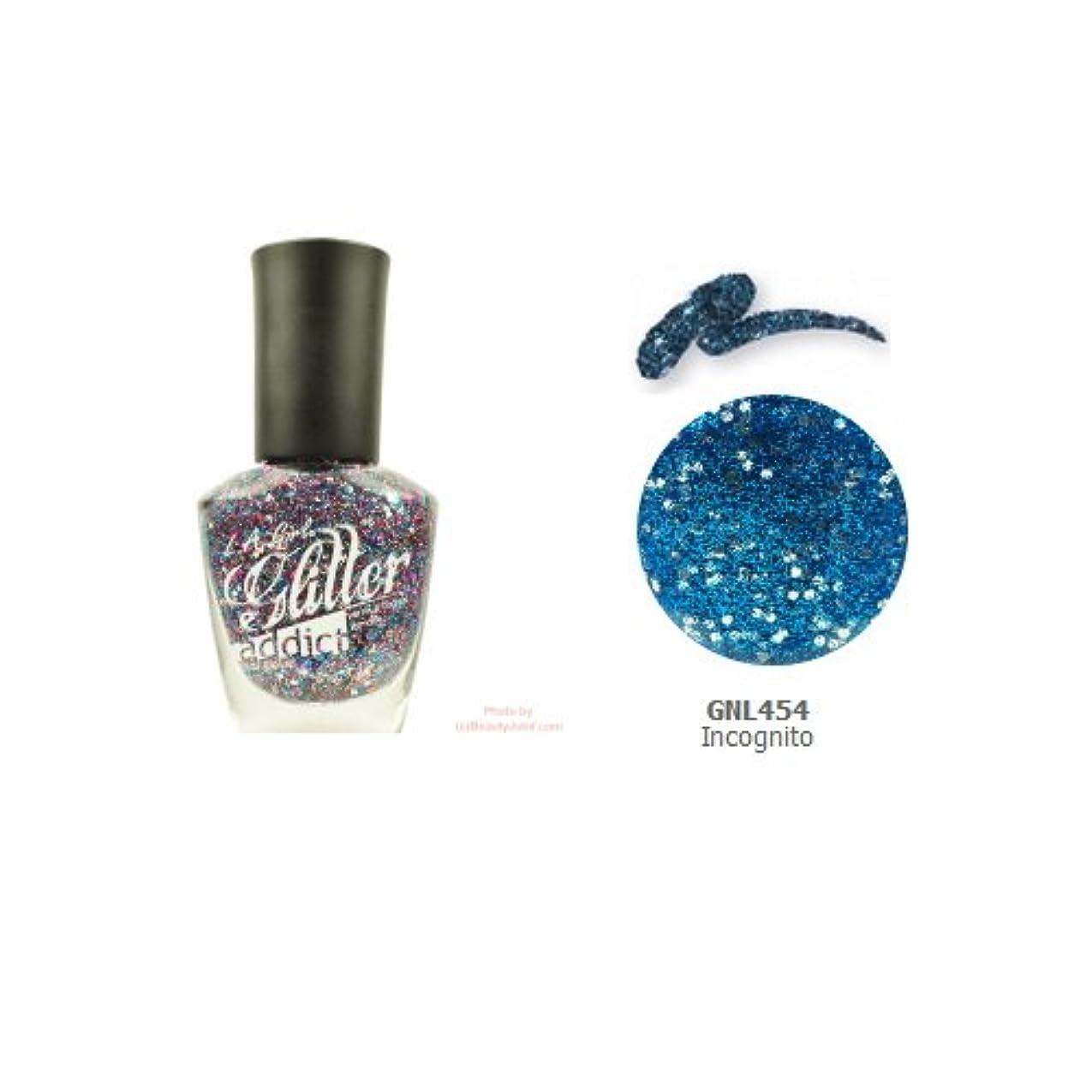 スーツケース遠洋の終了するLA GIRL Glitter Addict Polish - Incognito (並行輸入品)