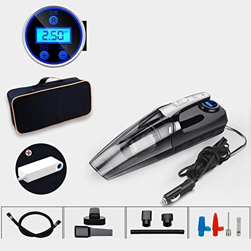 Best Price Cliiini-A Four-in-one Car Vacuum Cleaner, Vacuum Charging and Lighting Pressure Measureme...