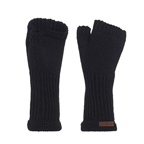 Knit Factory Handstulpen Cleo, Handstulpen:Schwarz