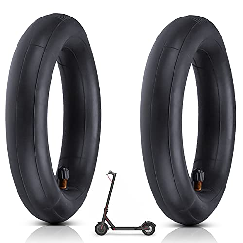 AZAMPA Ersatzräder Innenreifen, Elektro Scooter Reifen für M365, 2 Pcs Doppelte Stärke Innenrohr Schläuche für Roller mit Luftreifen 8 1/2 x2, Kompatibel mit 8,5-Zoll-Reifen