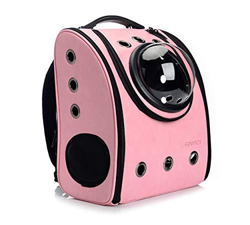 ANXUAN Mochila portátil de Viaje para Mascotas, diseño de Burbujas