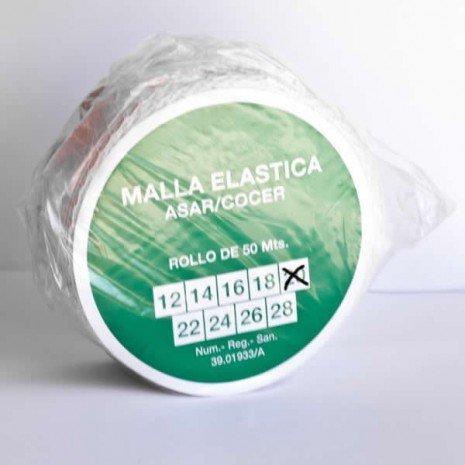 alesframa Malla elástica para Carne, Rollo de 50 Metros (Calibre 20)