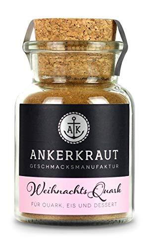 Ankerkraut Weihnachtsquark mit Tonkabohne, im Korkenglas, 115 g