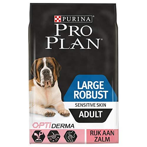 Pro Plan Hond Large Robust Adult Sensitive Skin Hondenbrokken met Zalm, 14kg