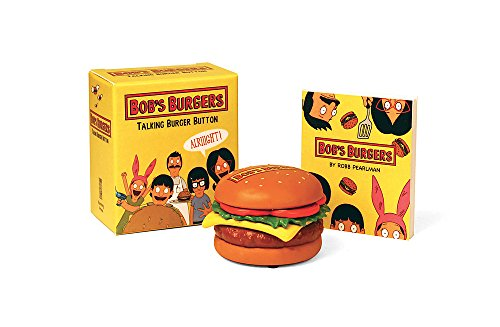Bob\'s Burgers Talking Burger Button (RP Minis)
