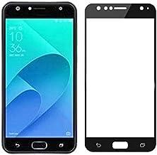 Phone Screen Protectors - Full Cover Tempered Glass For for Asus ZenFone 4 Selfie Pro ZD553KL ZD552KL Live Plus ZB553KL Screen Protector Protective Film (Gold ZB553KL)