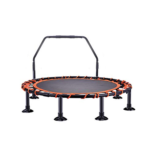 YYLL Foldable Mini Trampoline, Fitness Rebounder Exercise Trampoline Indoor and Outdoor Trampoline for Kids, Teens and Adults (Color : 48Inch, Size : C)