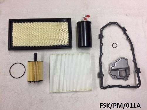 Ashika filtres kit d'entretien Calibre PM 2.0 Crd 2007–2010 CVT Transmission