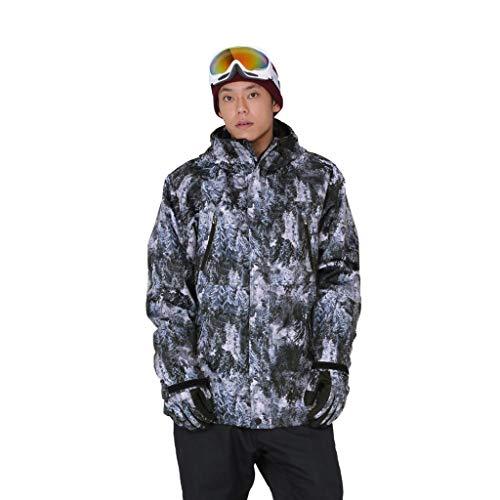 OMING Skianzüge Herren wasserdichte Skijacke Berg Schneemantel warme Winterjacke Regen Jacke Outdoor-Windjacke Skianzüge für Mädchen (Color : B, Size : XL Size)