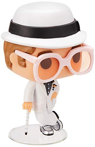 Funko- Rock Pop Vinile Rocks Elton John, 9 cm, 25320
