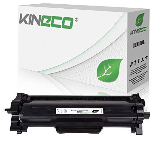 Kineco Toner XXL ersetzt Brother TN2420 TN2410 doppelter Inhalt 6.000 Seiten für Brother HL-L2350DW HL-L2370DN HL-L2375DW HL-L2310D MFC-L2710DW