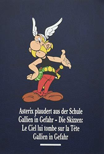 Asterix Gesamtausgabe 12: Asterix plaudert aus der Schule, Gallien in Gefahr, Gallien in Gefahr - Die Skizzen