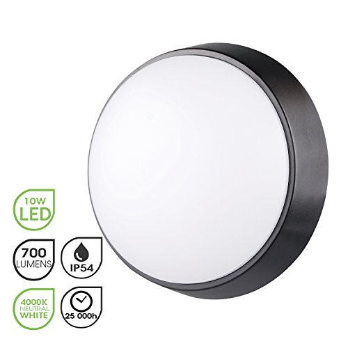 Lámpara LED para Pared y Techo Luz Nocturna LED Circular 10