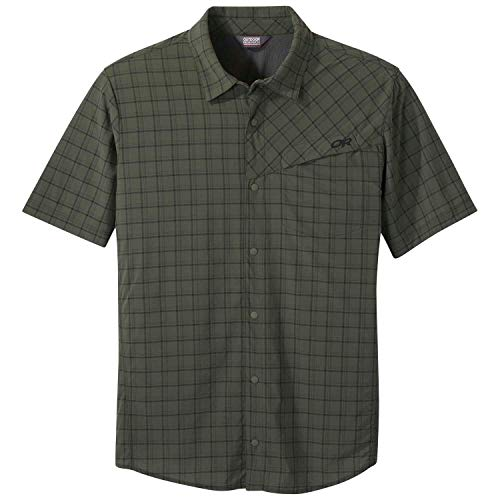 Outdoor Research Mens' Astroman S/S Sun Shirt, Ivy, XL