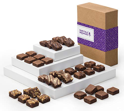 Fairytale Brownies Magic Morsel 36 Individually Wrapped Gourmet Chocolate Food Gift Basket - 1.5...