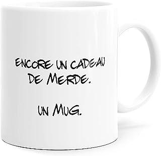 Luigi Collection Mug Humour Encore Un Cadeau de Merde Tasse Message Drôle. Idée Cadeau Original Ami, Collègue Amoureux Cou...
