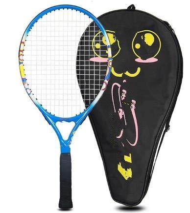 Raqueta de Tenis para niños, Estudiantes de Primaria y Secundaria, Principiantes, Accesorios completos para niños, 23 Pulgadas