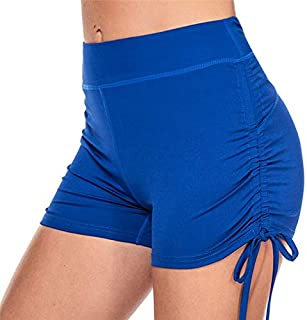 Beiziml Sexy Yoga Shorts for Women Sports Wear High Waist Push Up Yoga Shorts Fitness Short Pants Skinny Female Running Gy...