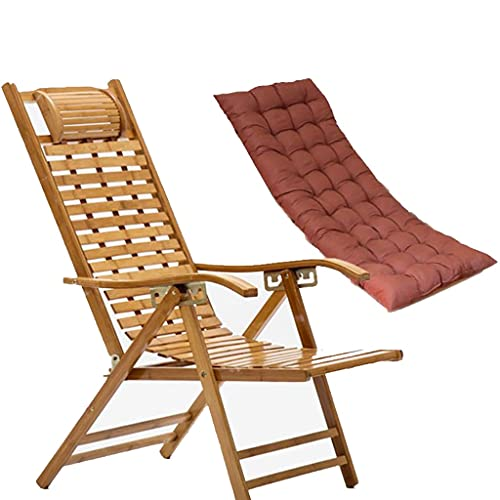 Tumbona Plegable Sillon Reclinable,Tumbona Plegable Silla Reclinable con Cojín Extraíble Acolchado,Gravedad Cero Sillon reclinable terraza,sillon reclinable relax,tumbona de patio ( Color : Style 1 )