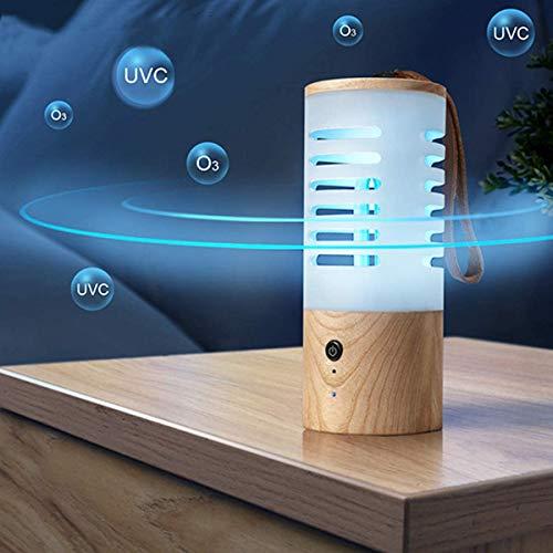 UV Licht Draagbare Sanitizer Ozon Blauwe Lichten Ultraviolette Desinfectie LED Lamp UV-C Lampen Sterilizer, Klein Gemeten USB Oplaadbare Sterilisatie Lamp