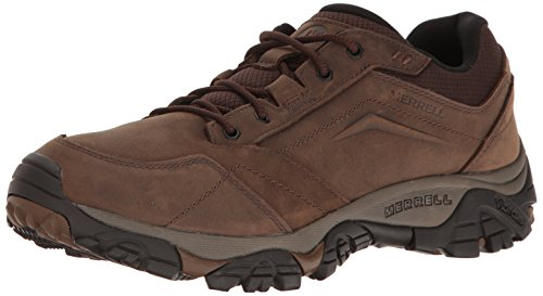 Merrell Moab Adventure Lace, Herren Trekking- & Wanderschuhe, Braun (Dark Earth), 43 EU (8.5 UK)