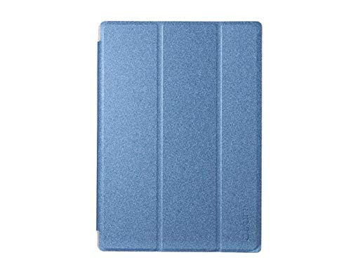 DyNamic Funda De Cuero PU Plegable Soporte para 10,1 Pulgadas Teclast Master T10 - Azul