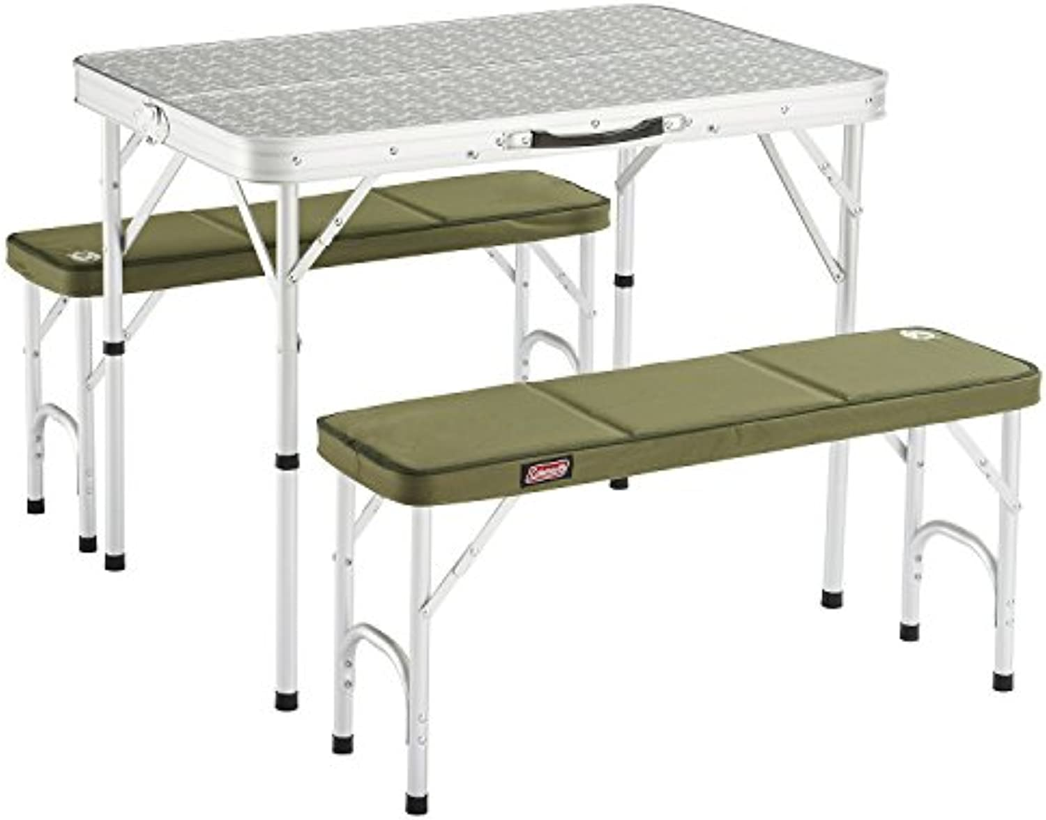 Coleman 205584 Campingtisch Pack-Away Table for 4 (90 x 60 x 70 40 cm)