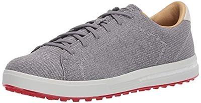 adidas Men's Adipure SP Knit Golf Shoe, Grey Three/Silver Metallic/Orbit Grey, 9.5 Medium Wide US
