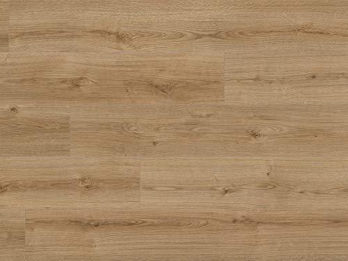 Kaindl Laminatboden Eiche natur 8mm | Premium Bodenbelag Oak evoke trend ✓natürliches Laufgefühl ✓schnelle klick Montage ✓unempfindlich & pflegeleicht | Eiche Laminat 2,4qm