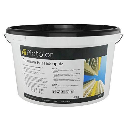 Pictolor Premium-Fassadenputz 20kg Körnung: 3mm