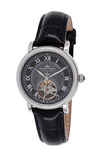 Yonger & Bresson Damen Analog Automatik Uhr YBD 8524-01