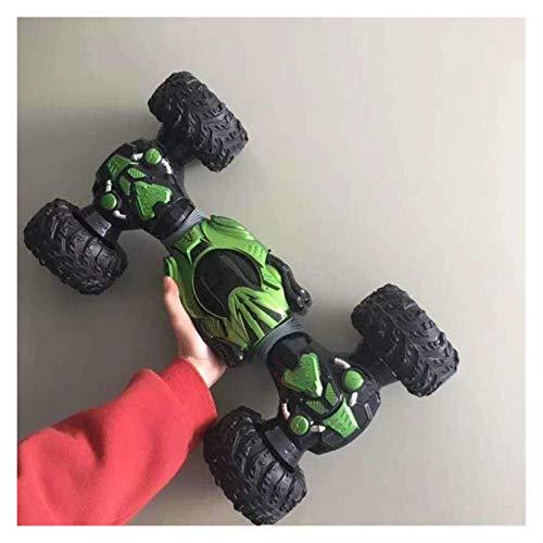 Decoración del hogar Terrain Monster Buggy Camión Neumático Amortiguadores Coche 2.4GHz 360 Grados Control Remoto Coche RC Alta Velocidad Todo Giratorio Coche retorcido Voltereta Voltereta Truco Ni