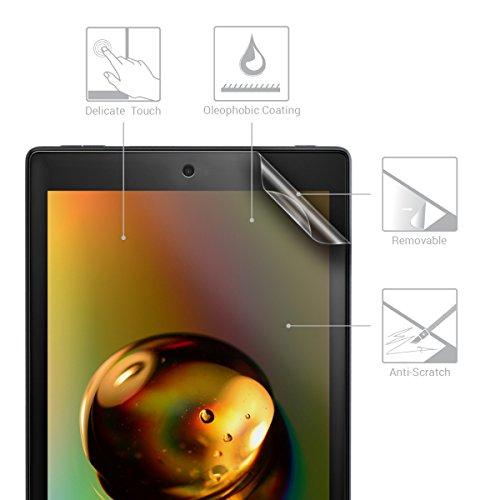 kwmobile 2X Folie kompatibel mit Amazon Fire HD 10 (2017/2019) - Full Screen Tablet Schutzfolie entspiegelt