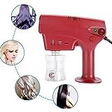 DYR 260ML多機能ナノスチームガンヘアケアスパ加湿器、ヘアカラー染色スチーマーヘアケアツールスタイリングツール、髪に潤いを